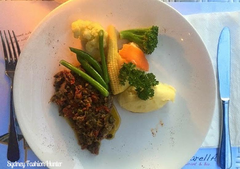 Bali Restaurants - Mozzarella Tuna
