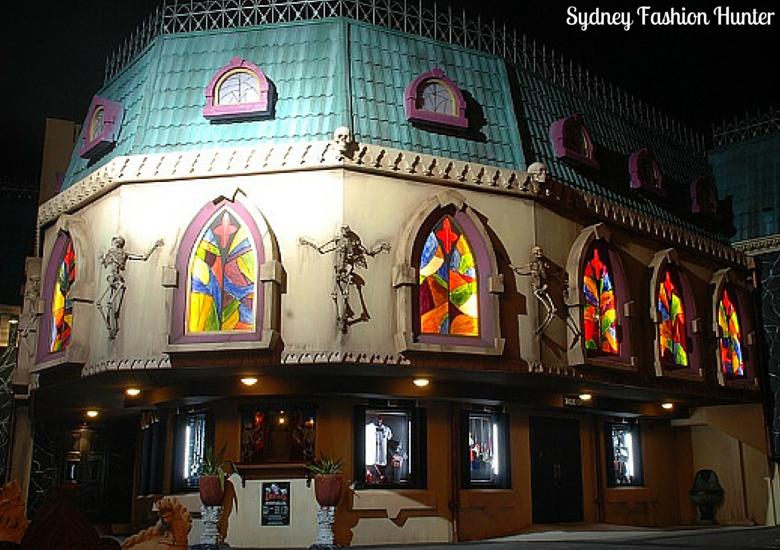 Dracula's Comedy Cabaret Restaurant Exterior