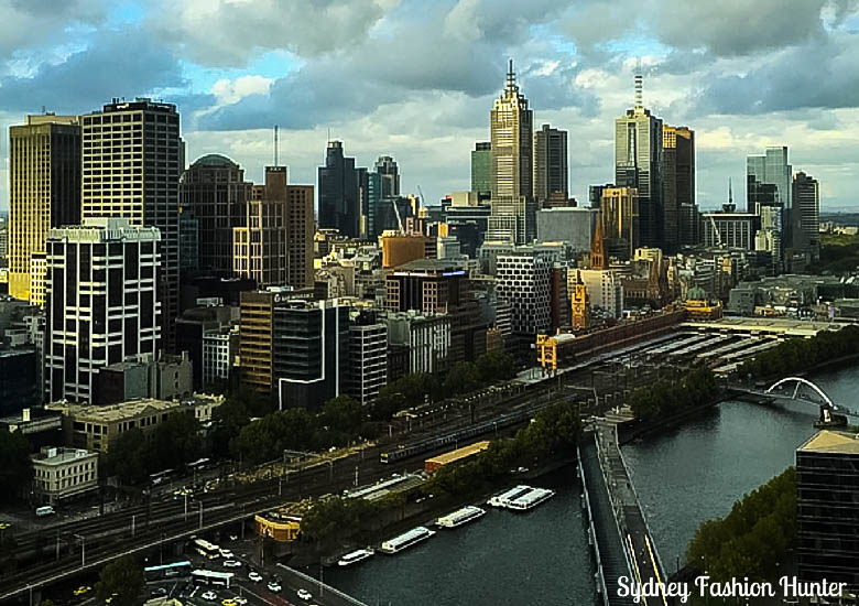 Sydney Fashion Hunter: Melbourne View from 28 Floor Crown Towers