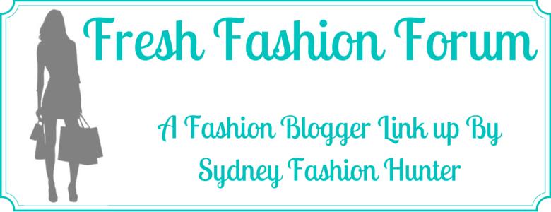 Sydney Fashion Hunter Fresh Fashion Forum Fashion Blogger Link Ups Banner