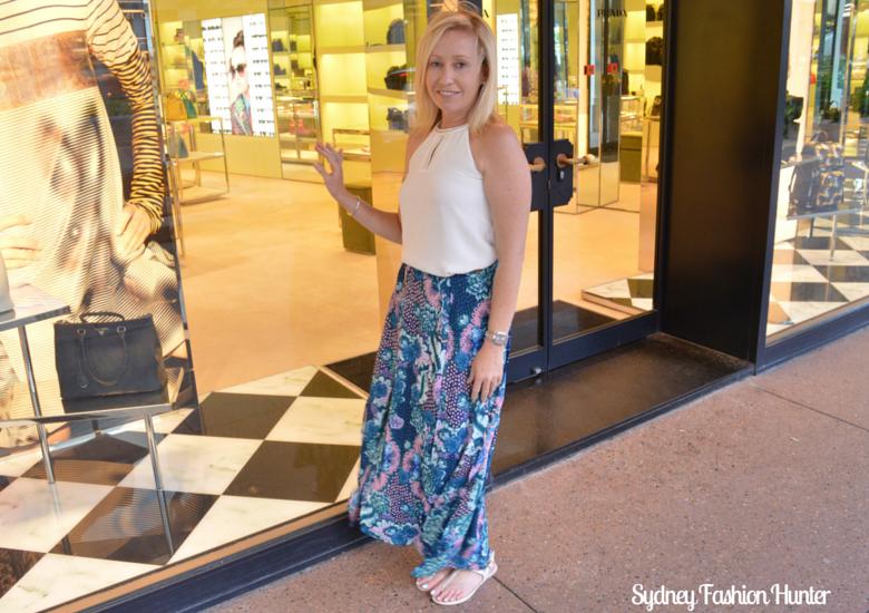 Billabong Boheme Skirt, The Limited Ivory Embellished Halter, Surfers Paradise Prada