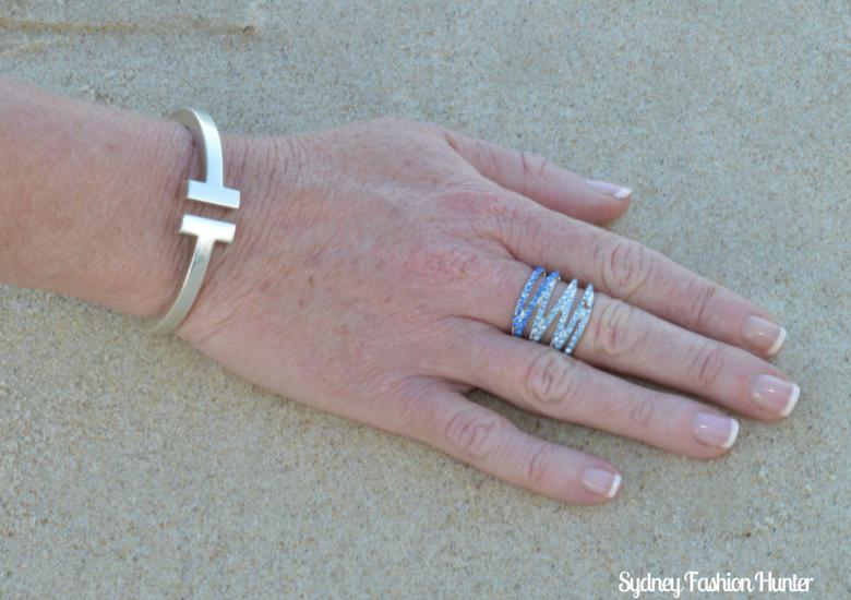 Tiffany T Bangle & Lovisa Ring, Surfers Paradise Beach
