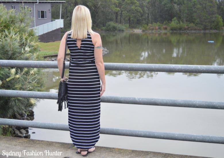 Sydney Fashion Hunter Fringed Bag Back