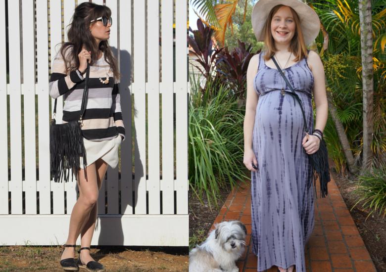 Sydney Fashion Hunter Fringed Bag Blogger Collaboration
