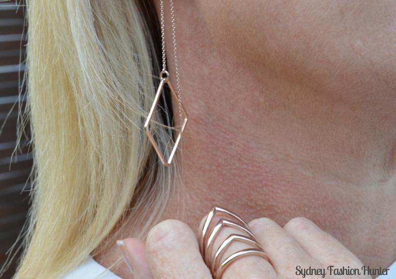 Sydney Fashion Hunter Fresh Fashion Forum #27 - Rose Gold Ring & Earrings