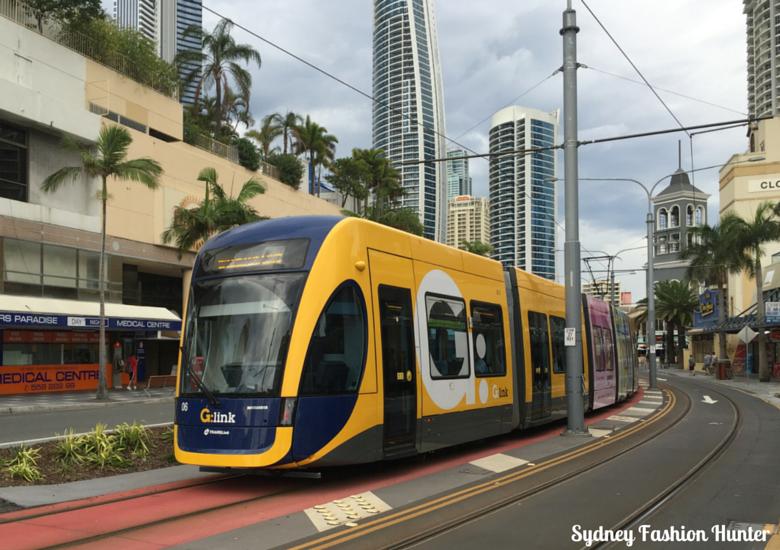 Sydney Fashion Hunter: Gold Coast - Tram