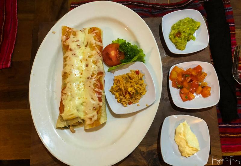 Holy Guacamole Enchiladas