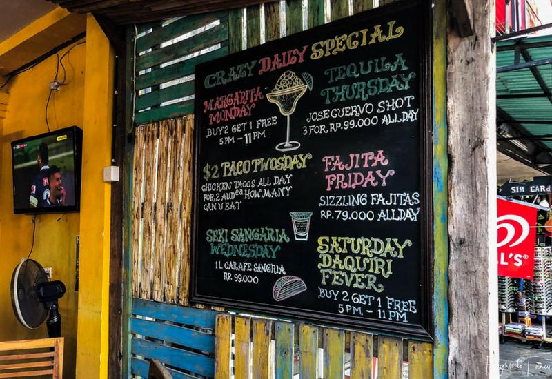 Holy Guacamole Specials