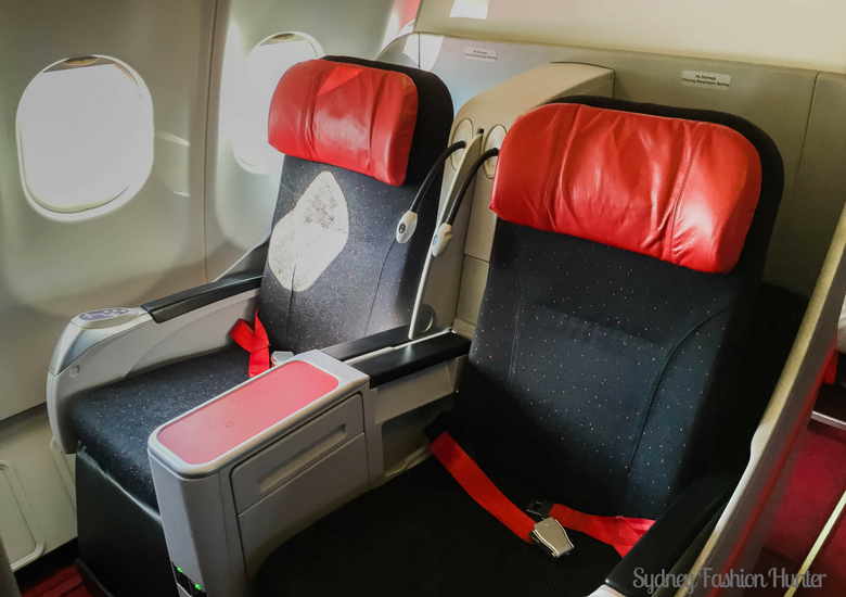Sydney Fashion Hunter: Air Asia X Business Class Review - Seat