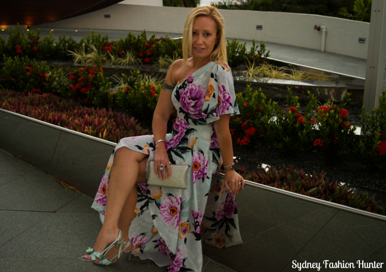 Sydney Fashion Hunter: Fresh Fashion Forum 38 - Floaty Floral Dress - Sitting