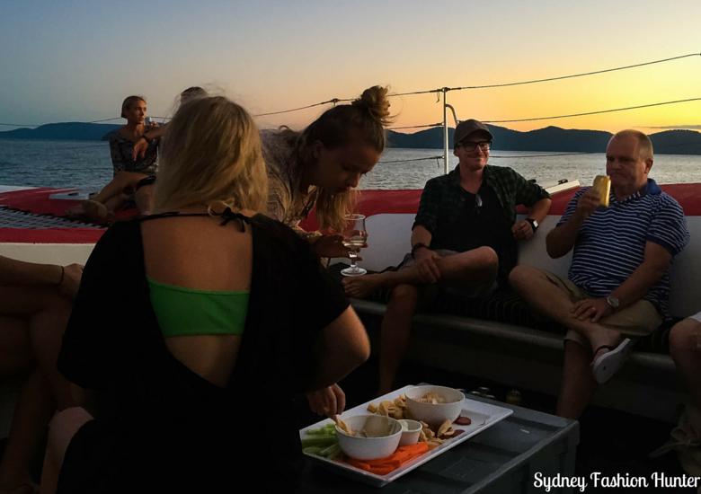 Sydney Fashion Hunter: Explore On The Edge Sunset Cruise Hamilton Island - Food