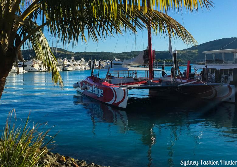 Sydney Fashion Hunter: Explore On The Edge Sunset Cruise Hamilton Island - On The Edge in Marina