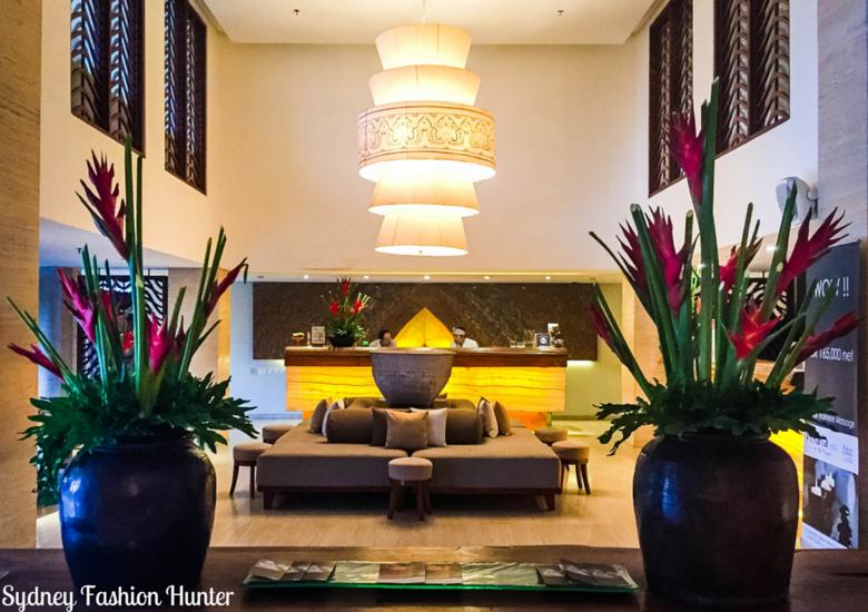 Sydney Fashion Hunter: The Magani Hotel Bali Review - Lobby