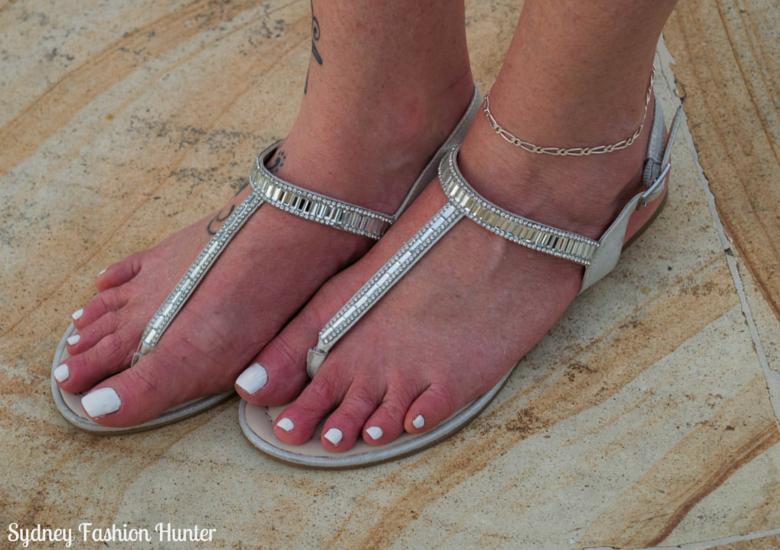 Sydney Fashion Hunter: Fresh Fashion Forum 42 - Asymmetric Yellow Halter Top Shoes
