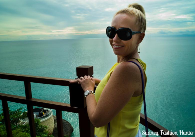 Sydney Fashion Hunter: Fresh Fashion Forum 42 - Asymmetric Yellow Halter Top view