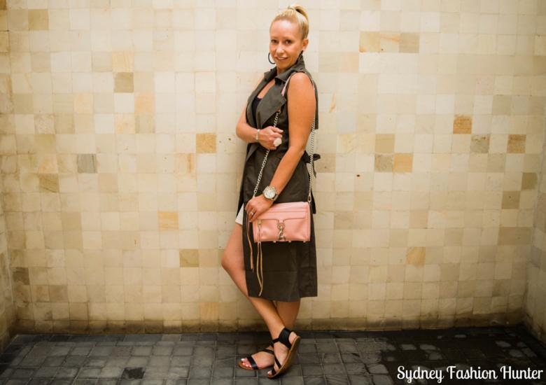 Sydney Fashion Hunter: Fresh Fashion Forum No 41 - Khaki Sleeveless Trench - Side