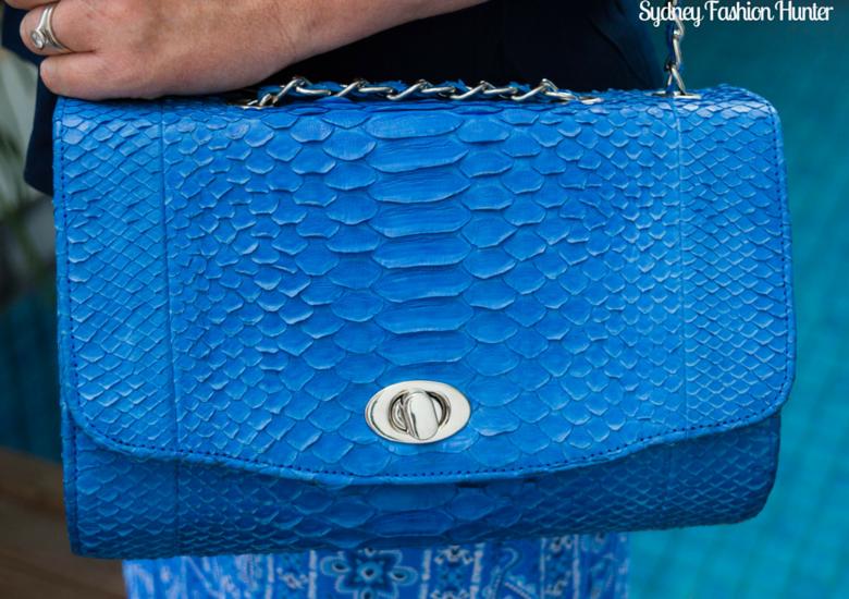Sydney Fashion Hunter: Fresh Fashion Forum #43 Printed Maxi Skirt - Bag