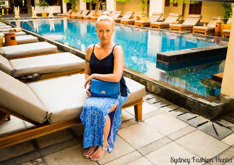 Sydney Fashion Hunter: Fresh Fashion forum #43 Printed Maxi Skirt - Pool
