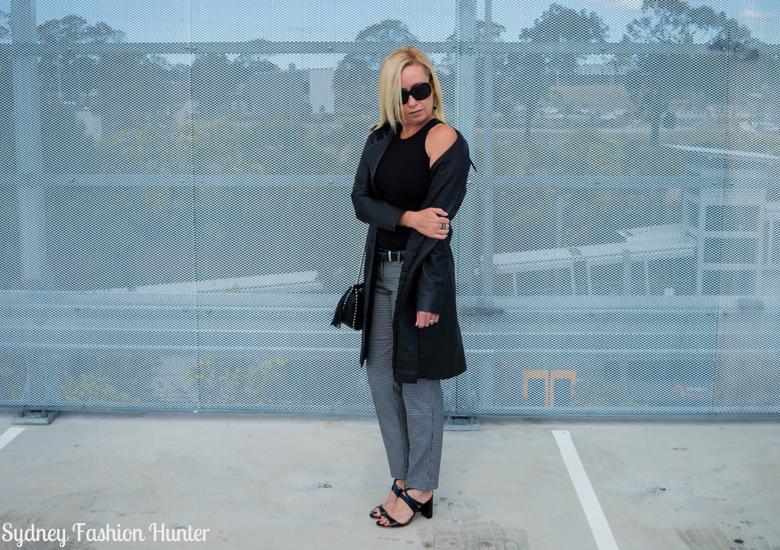 Sydney Fashion Hunter: Fresh Fashion Forum 46 - Black Leather Coat - Shoulder