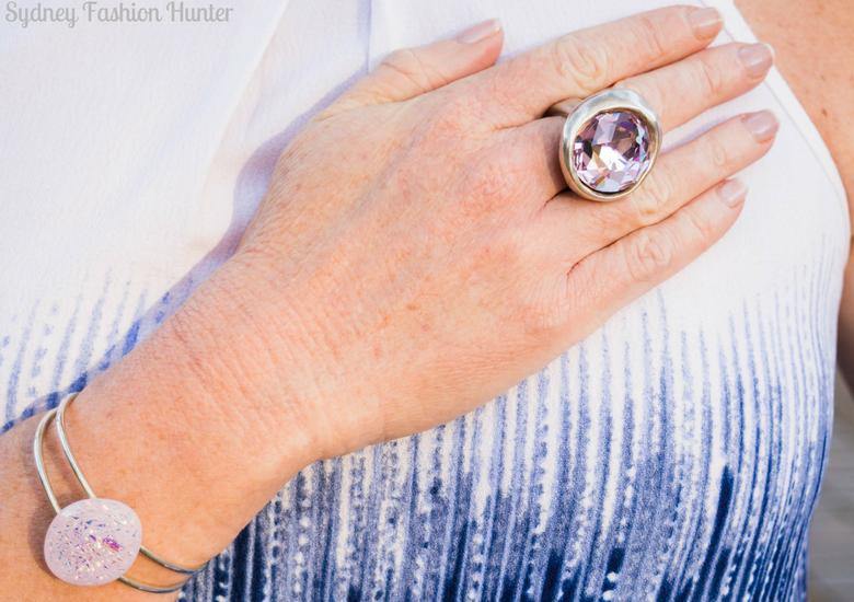 Sydney Fashion Hunter: Fresh Fashion Forum #46 - Pink Waterfall Coat - Ring & Bangle