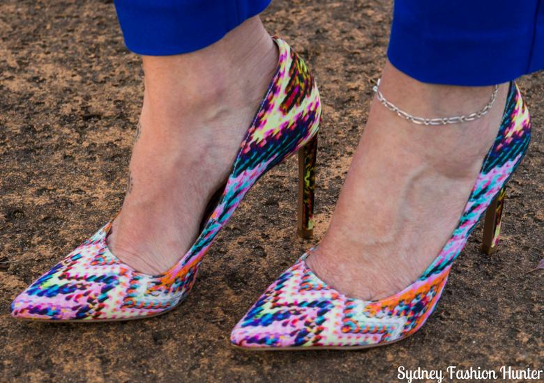 Sydney Fashion Hunter: Fresh Fashion Forum #46 - Pink Waterfall Coat - Shoes