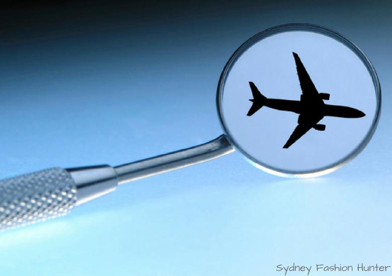 Fash Packing by Sydney Fashion Hunter: Destination Dentistry - Plane Mirror