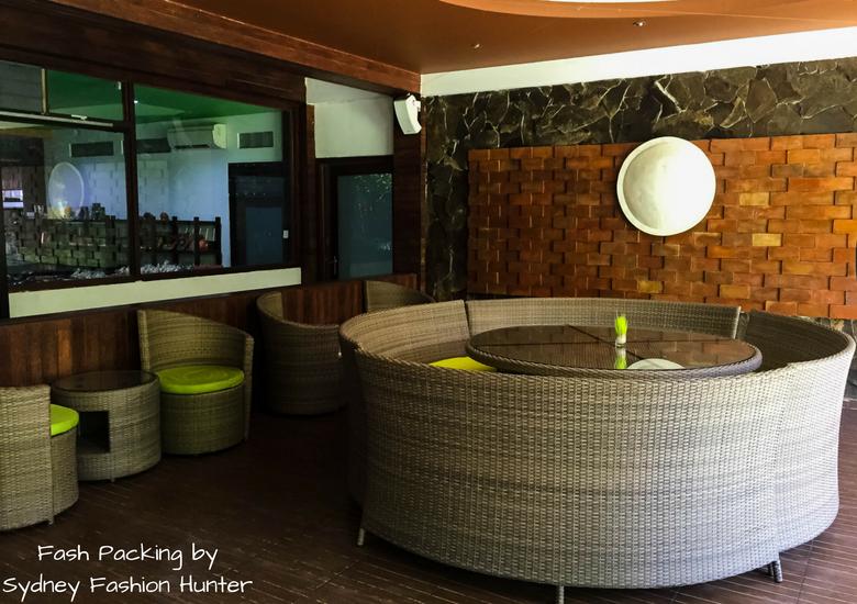 Fash Packing by Sydney Fashion Hunter: Restaurant Review Bella Vista Cafe Legian Bali