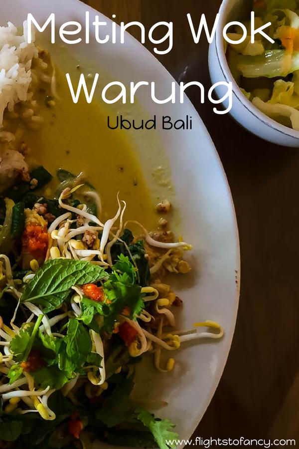 Melting Wok Warung Ubud Bali