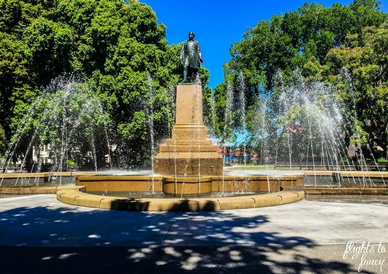Flights To Fancy: Tasmanian Road Trip - Hobart Fountain