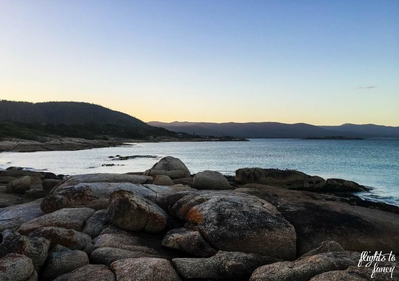 Flights To Fancy: Tasmanian Road Trip - Sunset On The Beach