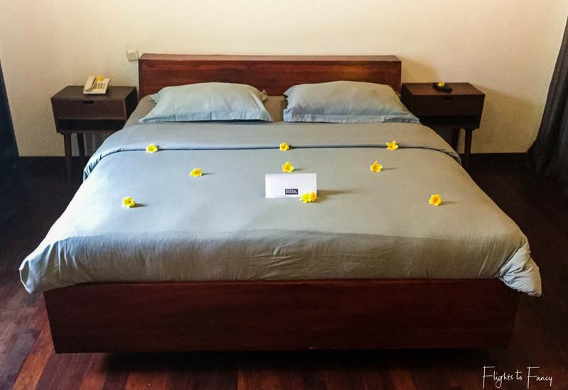 Bedroom Gili T Villas