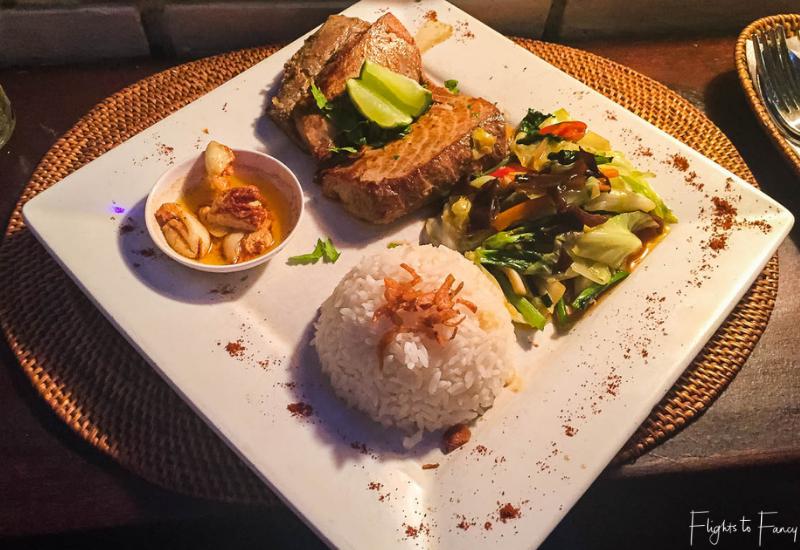 Fair Warung Bale Bali Tuna Steak