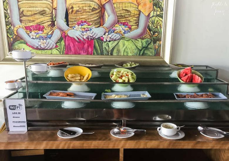 Flights To Fancy d'Nusa Beach Club & Resort_ Lembongan Luxury - Breakfast Fruit Buffet