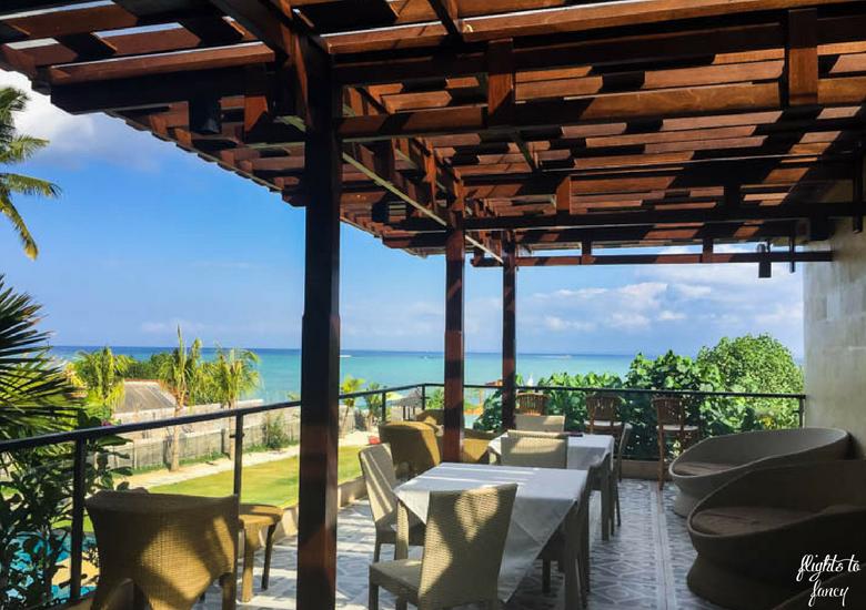 Flights To Fancy d'Nusa Beach Club & Resort_ Lembongan Luxury - Breakfast Restaurant Terrace