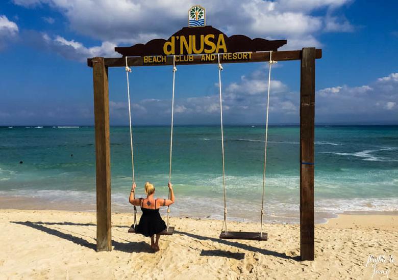 Flights To Fancy d'Nusa Beach Club & Resort_ Lembongan Luxury - Pool Me Beach Swing