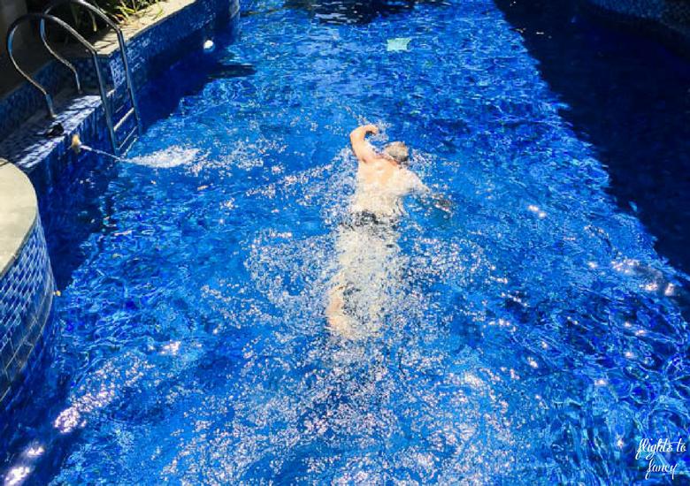 Flights To Fancy d'Nusa Beach Club & Resort_ Lembongan Luxury - Swimming In Lagoon Pool