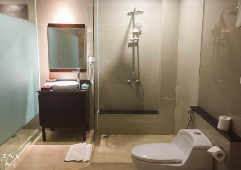 Flights To Fancy d'Nusa Beach Club & Resort_ Lembongan Luxury - d'Nusa Resort Bathroom