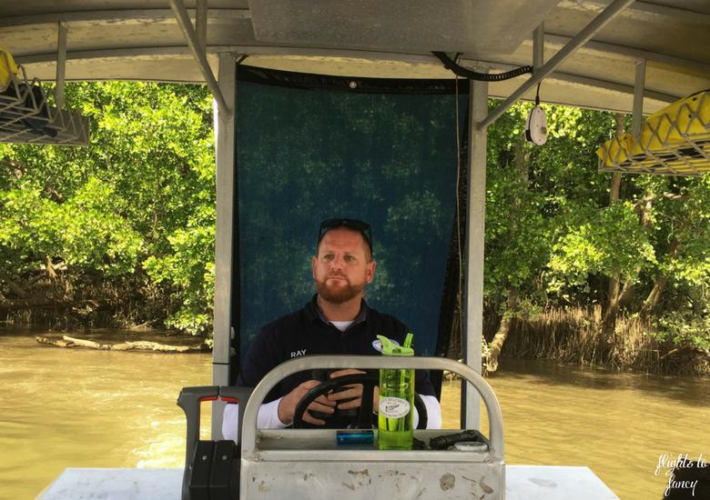Flights To Fancy: Bruce Belchers Daintree River Cruises - Captain Ray