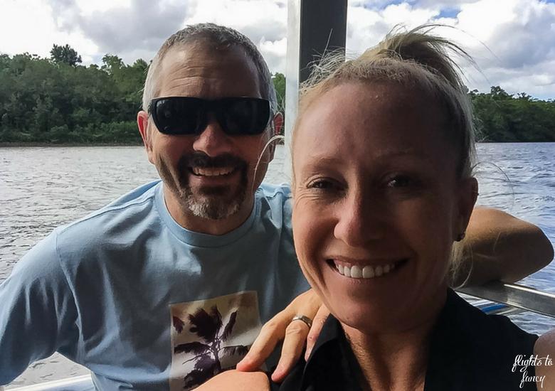 Flights To Fancy: Bruce Belchers Daintree River Cruises - Selfie