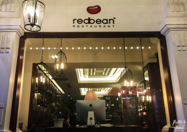 Flights To Fancy: Red Bean Restaurant Hanoi - Red Bean Hanoi Exterior