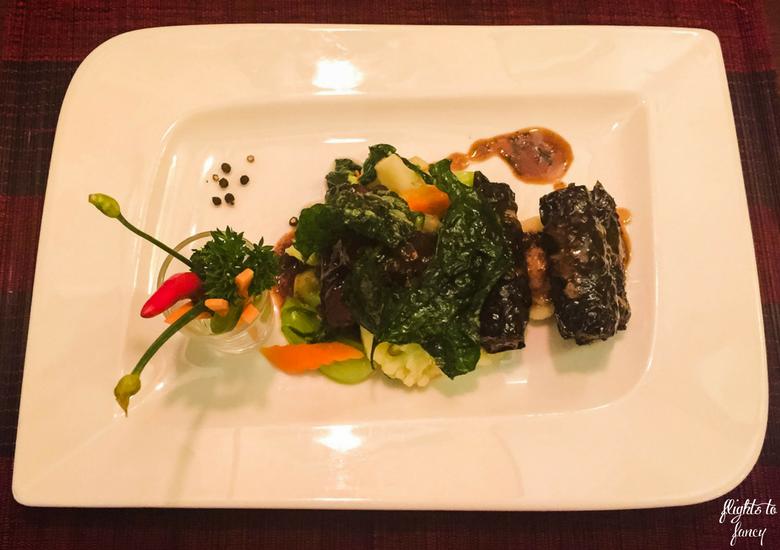 Flights To Fancy: Red Bean Restaurant Hanoi - Rolled Beef
