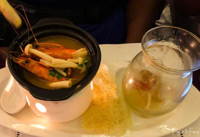 Red Bean Restaurant Hanoi: Prawn Entree
