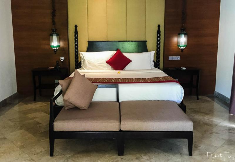 The Club Villas Seminyak: Bedroom in 1 bedroom honeymoon suite