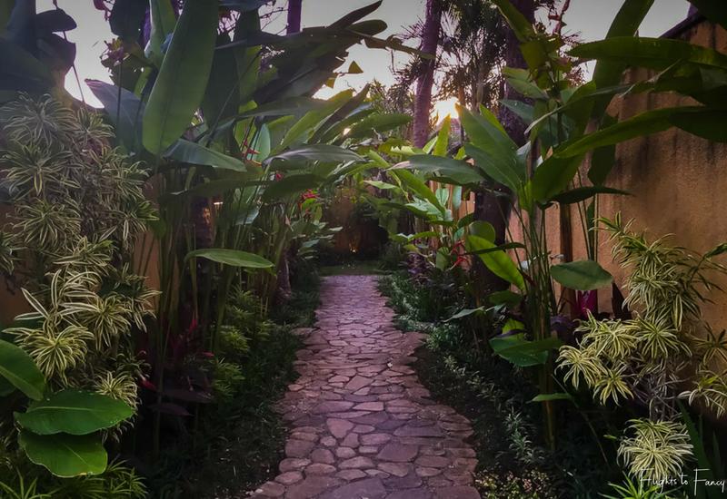 The Club Villas Seminyak: Path to private pool villa Bali