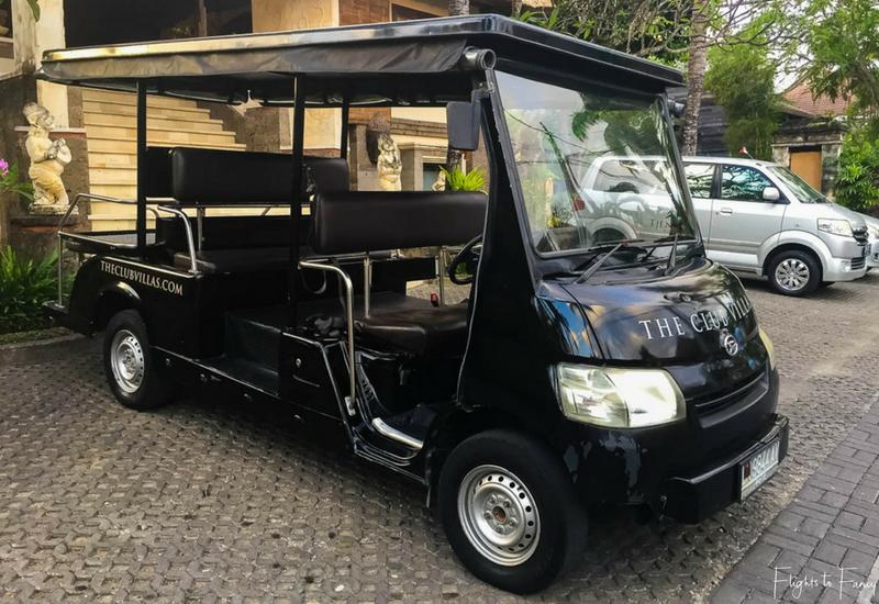 The Club Villas Seminyak: Shuttle Bus