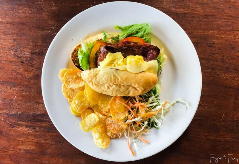 The Club Villas Seminyak: Super Happy Power Sandwich