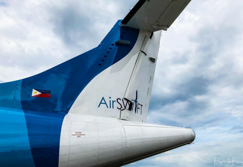 AirSWIFT Philippines: ATR-42 600 tail