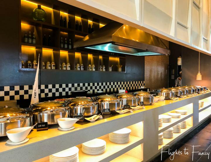 Breakfast Buffet at Movenpick Beach Resort Mactan Island Cebu Philippines - Flights to Fancy