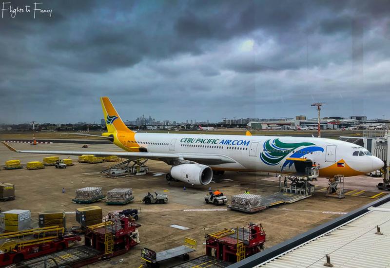 Cebu Pacific 5J40 - Cheap Flight From Sydney to Manila
