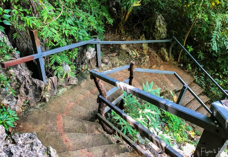 Coron Island Hopping: Kayangan Lake Stairs